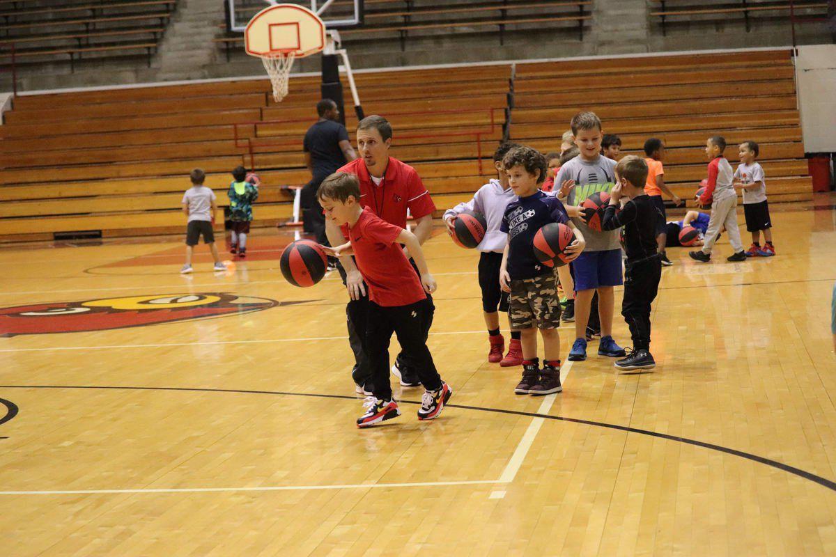 Cardinals, Croft host basketball camp