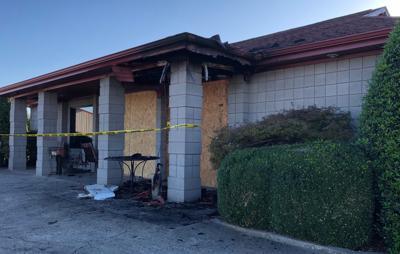 Bennett Motors dealership building damaged