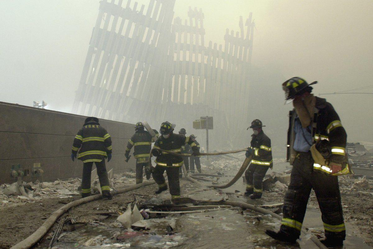 Firefighters 'walk the walk' to honor 9/11 fallen heroes