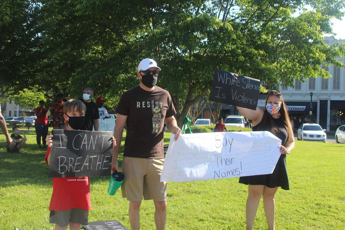 Mayfield Black Lives Matter Rally - photo 2