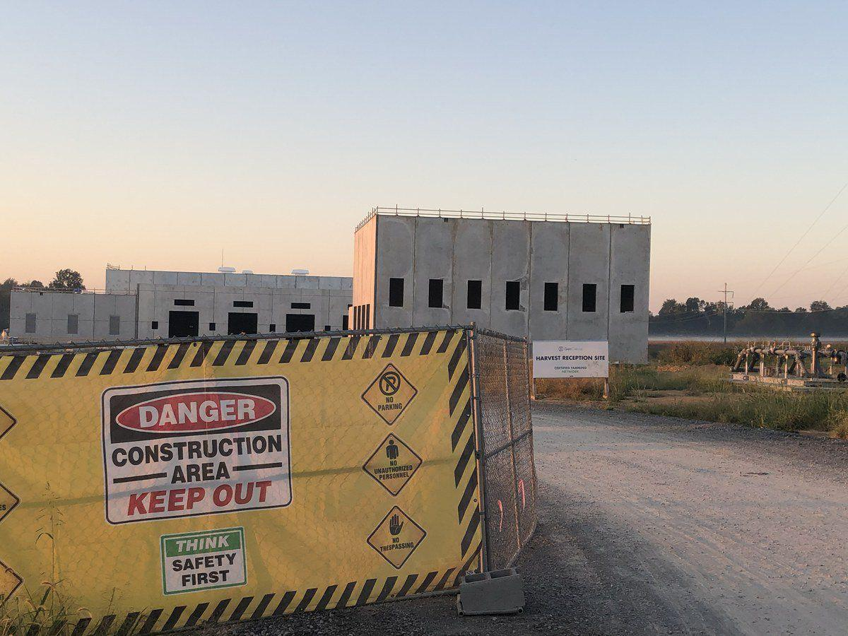Builders file $13M in liens on GenCanna plant property