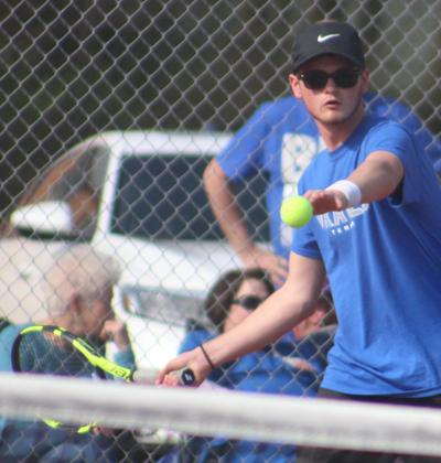 Graves duo 'gopher' quarters at state tennis