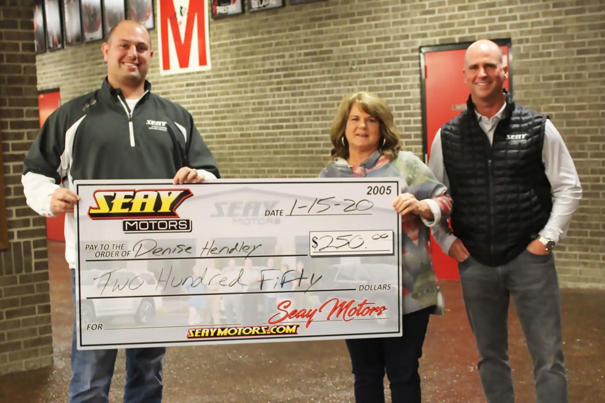 Seay Motors driving attendance winners
