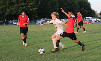 Mayfield falls in soccer season opener
