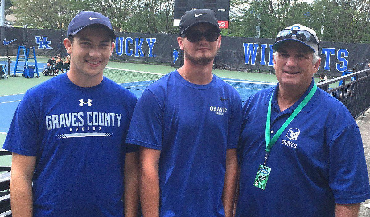 Graves wraps up successful tennis season