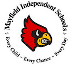 School districts see improvements despite limited data - Mayfield logo