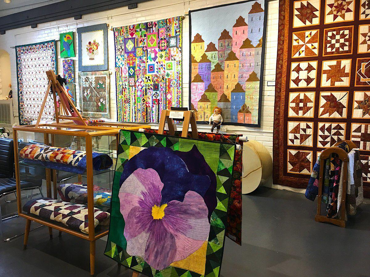 Piecemakers quilting art atIcehouse Gallery