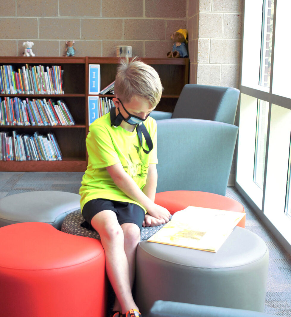 A new beginning: Students, staff impressed with Old Fort Elementary
