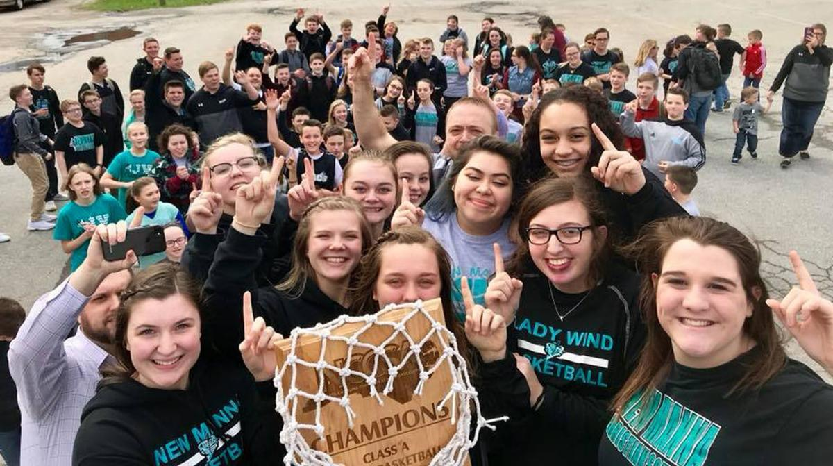 The patience of Job rewarded: New Manna girls win Christian school's 1st state hoops title