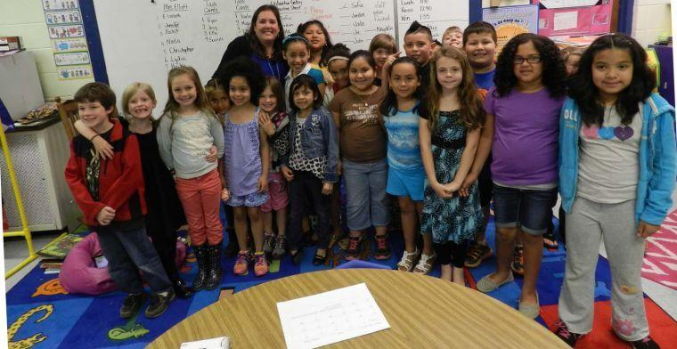 Elliott named 2014 15 teacher of the year mcdowellnews - Pleasant garden elementary school ...