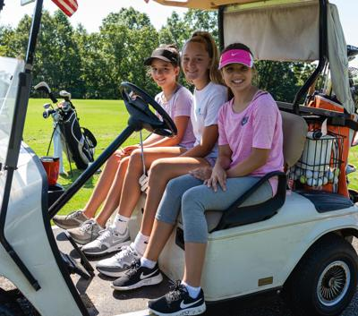 Youth golf camp has strong turnout