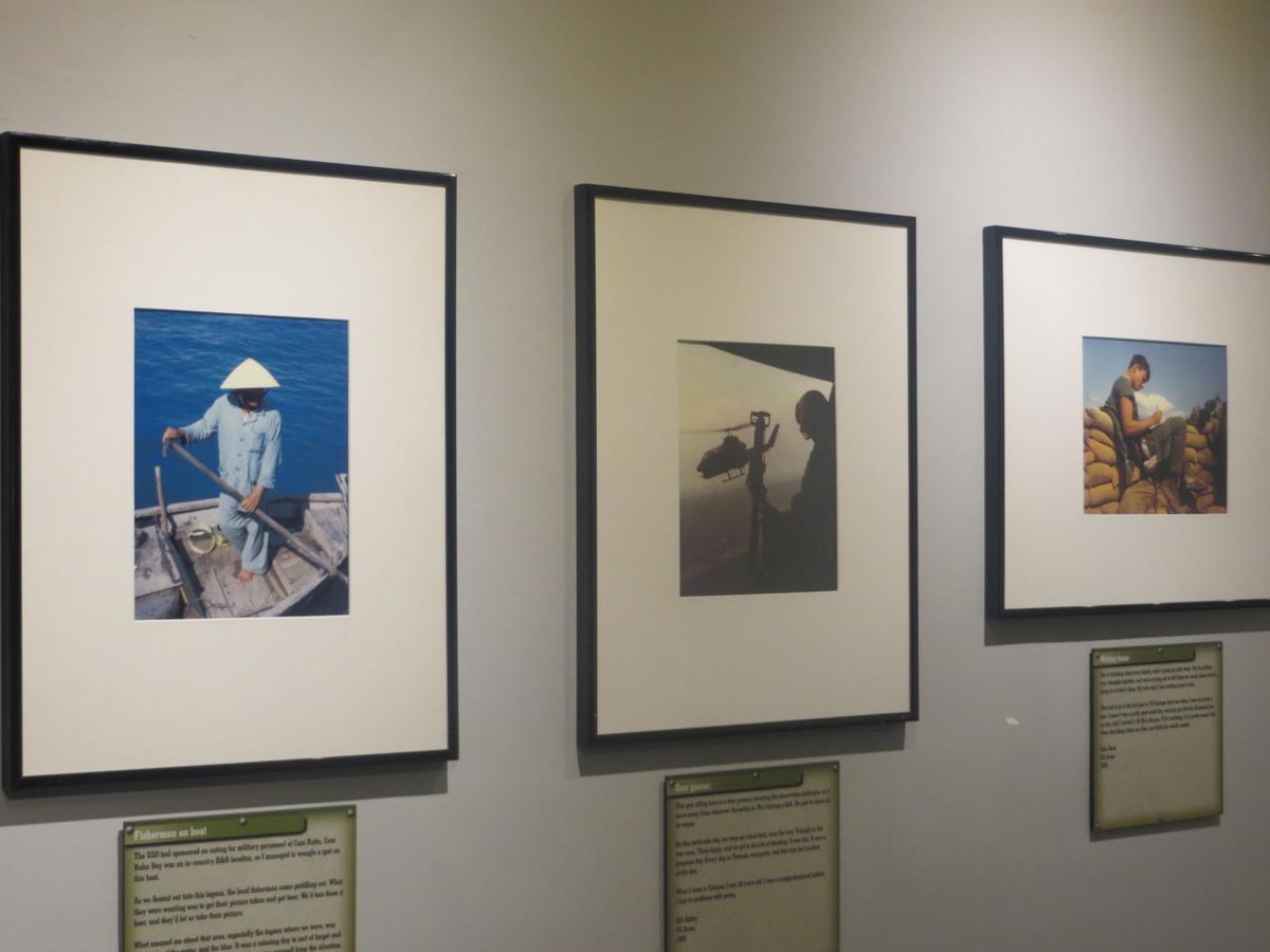 Vietnam War veterans' photos on exhibit at Mountain Gateway Museum