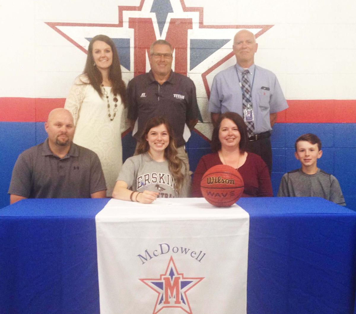 Lady Titans' Matson to play basketball at Erskine