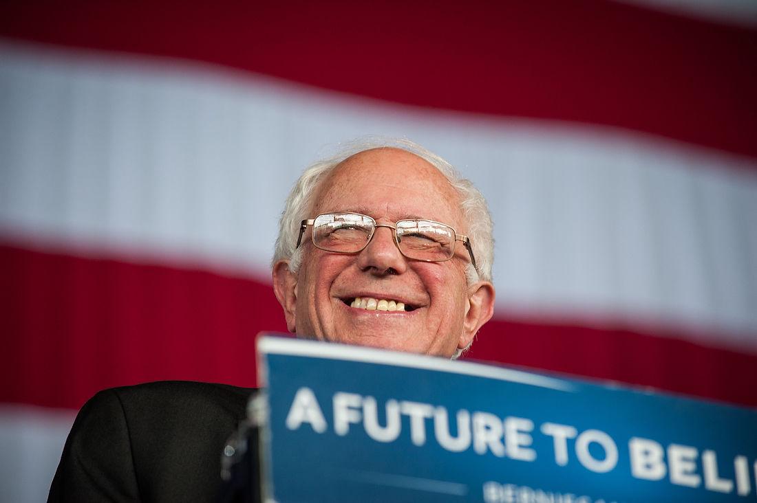 Bernie Sanders in Charlottte