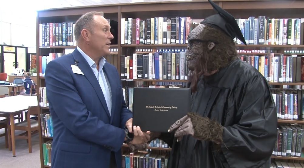 McDowell Tech encourages others to follow in Bigfoot's footsteps