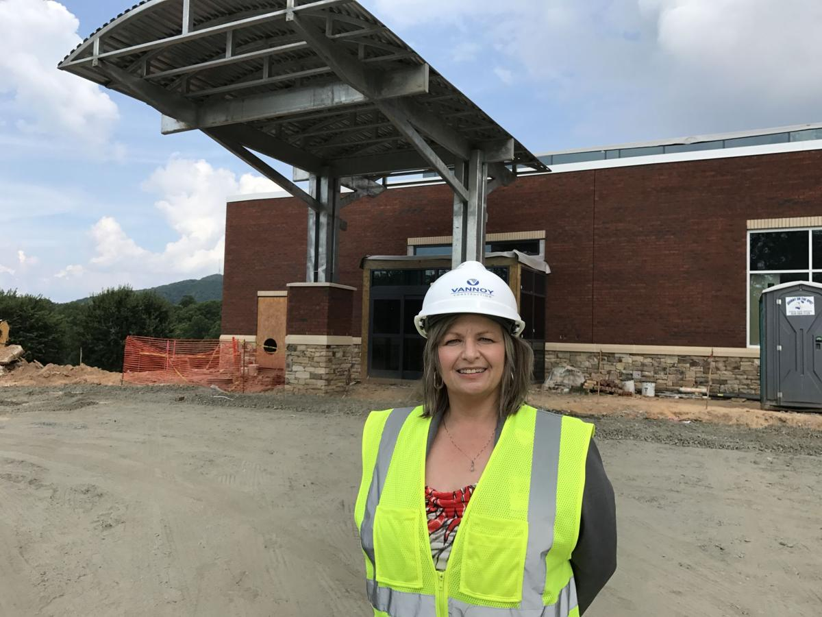 New McDowell Hospital closer to completion