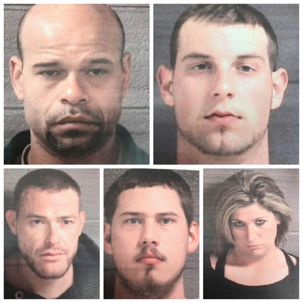 Four from McDowell charged in Black Mountain bust