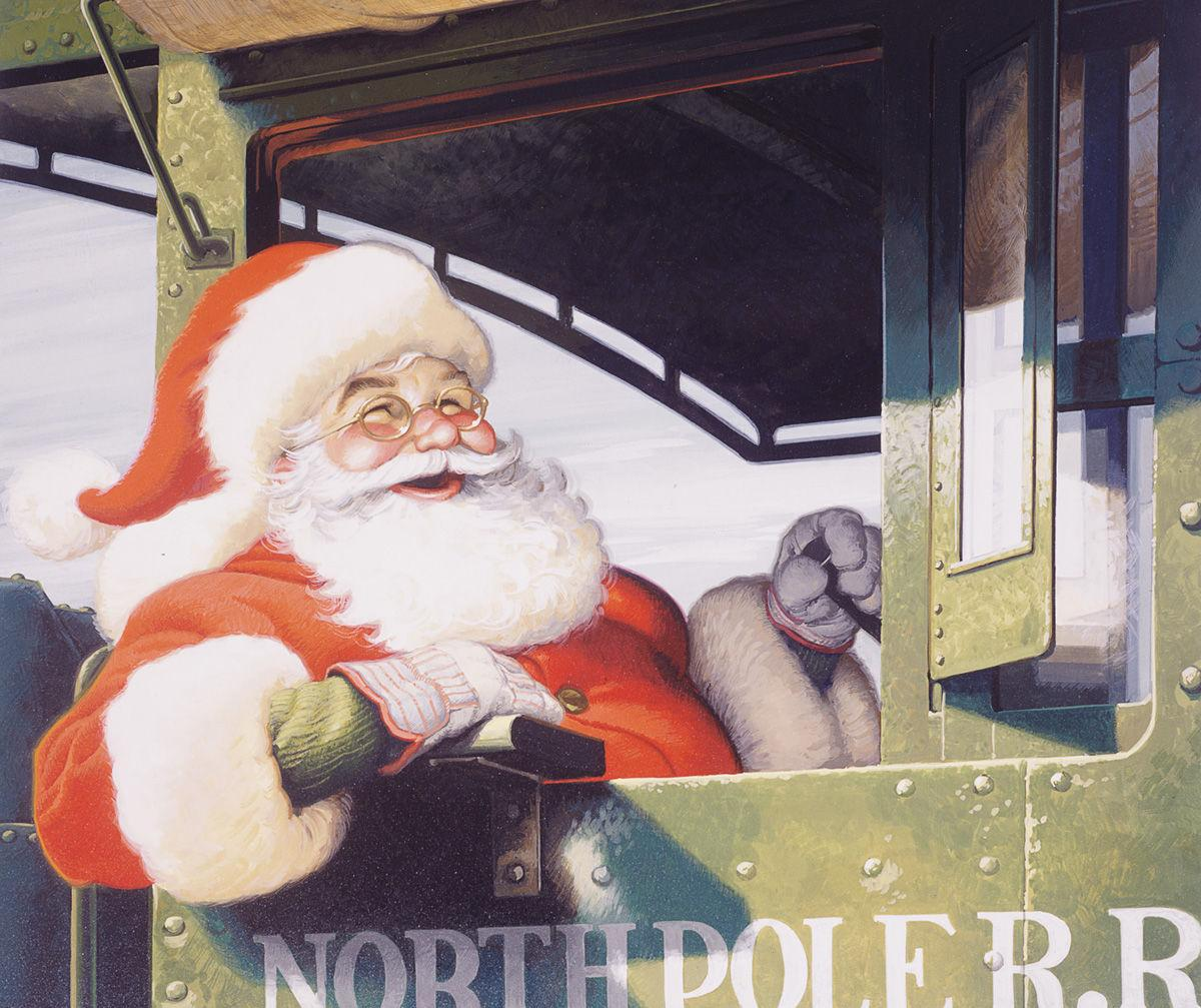 Scott Hollifield's Blast from the Past: Riding the rails with Santa