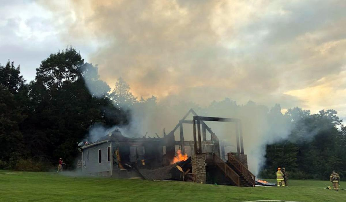 'God has protected us': Family OK after home burns in Dysartsville