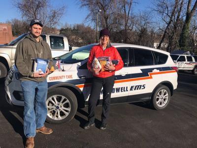 Bringing the essentials: Community agencies assist homeless