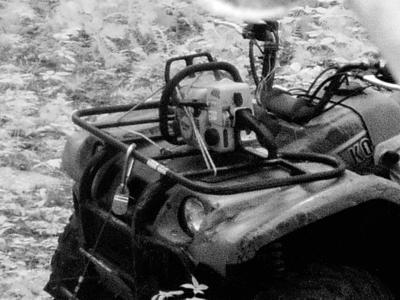 Investigators search for stolen four-wheeler