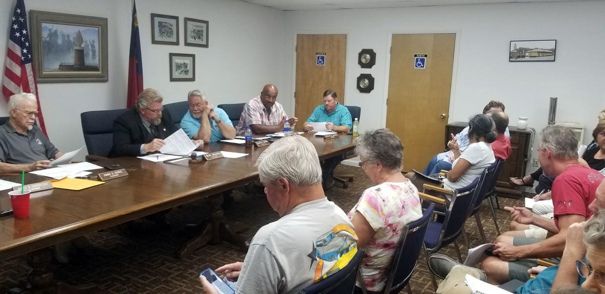 Old Fort Board of Aldermen: Commerce official, town leaders discuss results of economic workshop