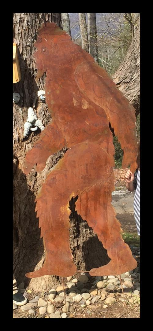 Missing Bigfoot: Metal silhouette stolen from Marion yard