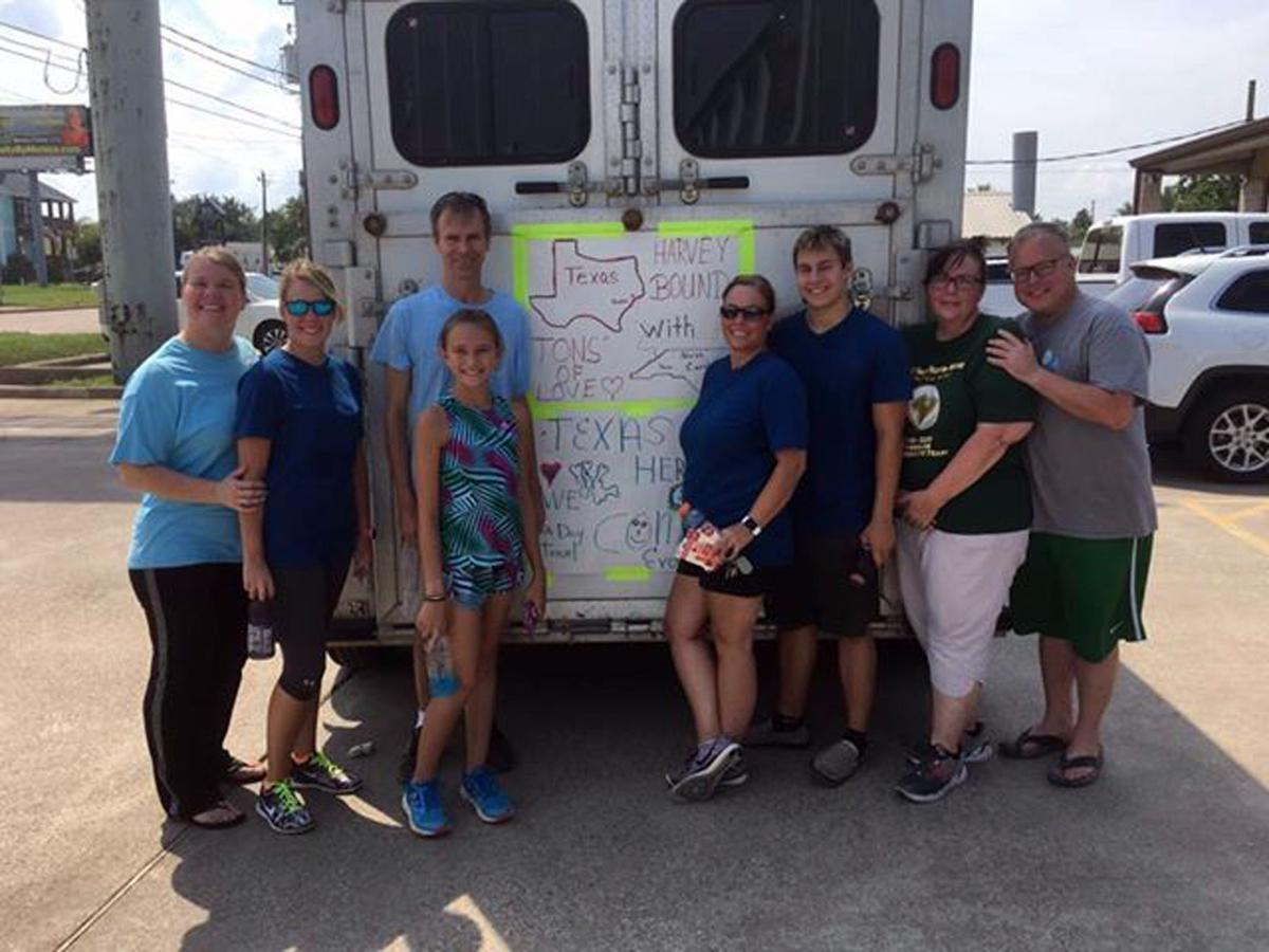 McDowell family travels to Texas to assist hurricane victims