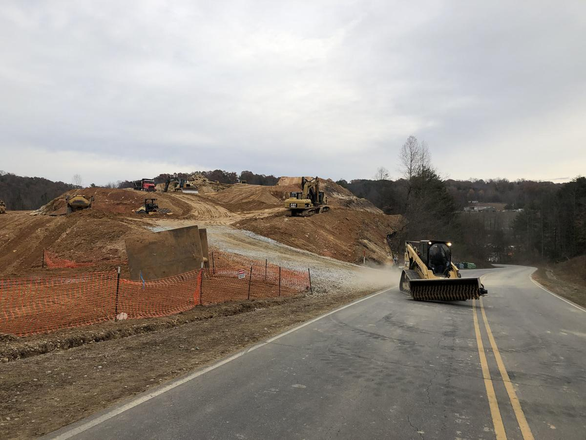 Work progresses on Marion apartment complex