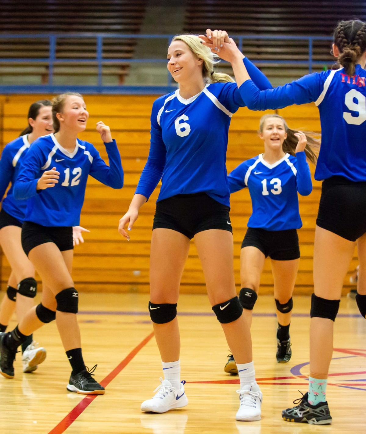 Lady Titans hold off Freedom in 5-set battle