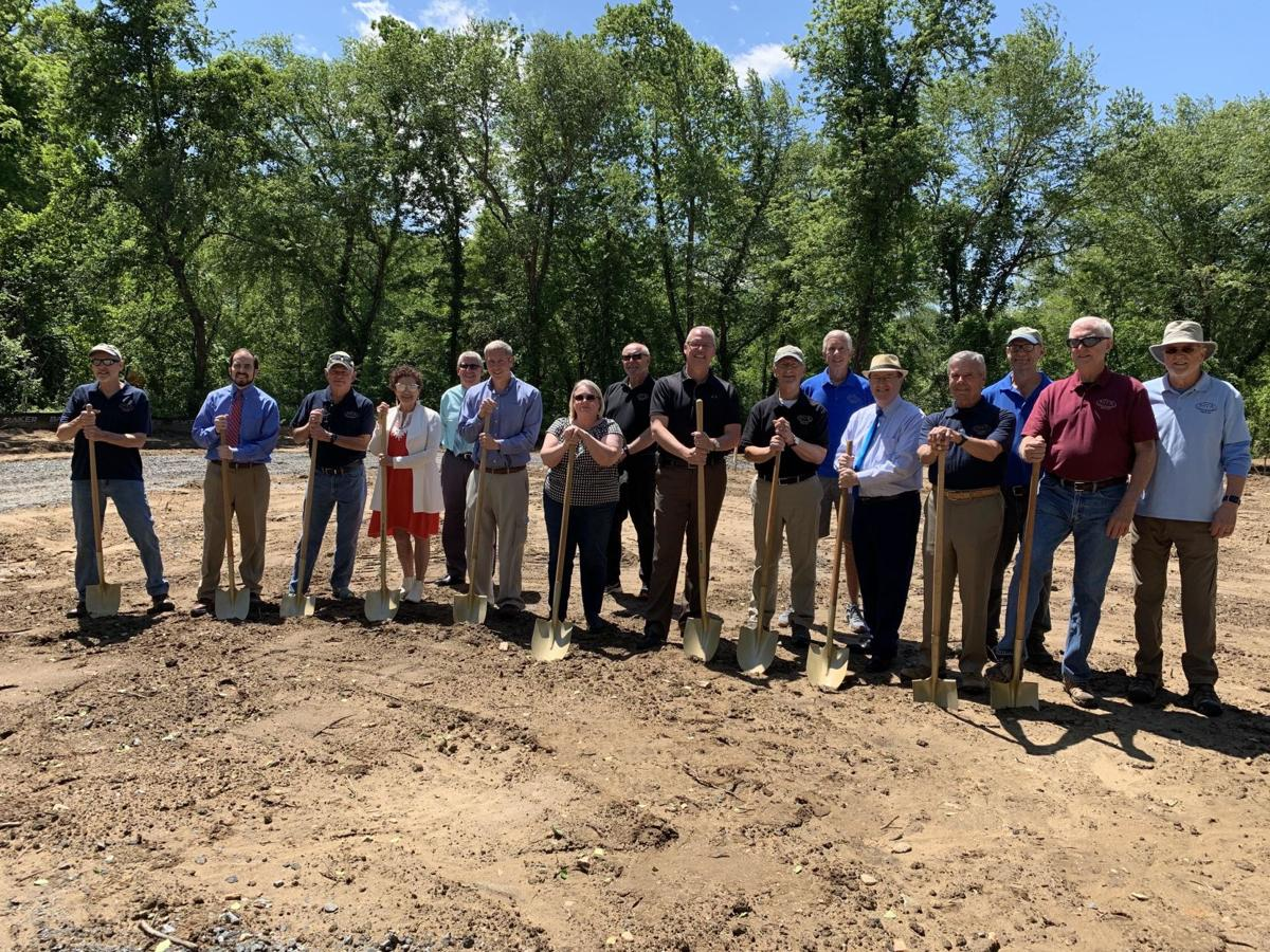 Ground-breaking ceremony held for third phase of the greenway