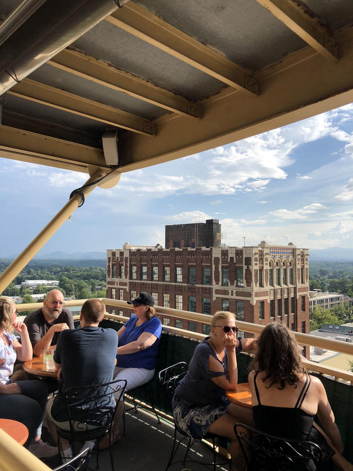 Out for delivery: Former Marion mail carrier runs rooftop bar tours