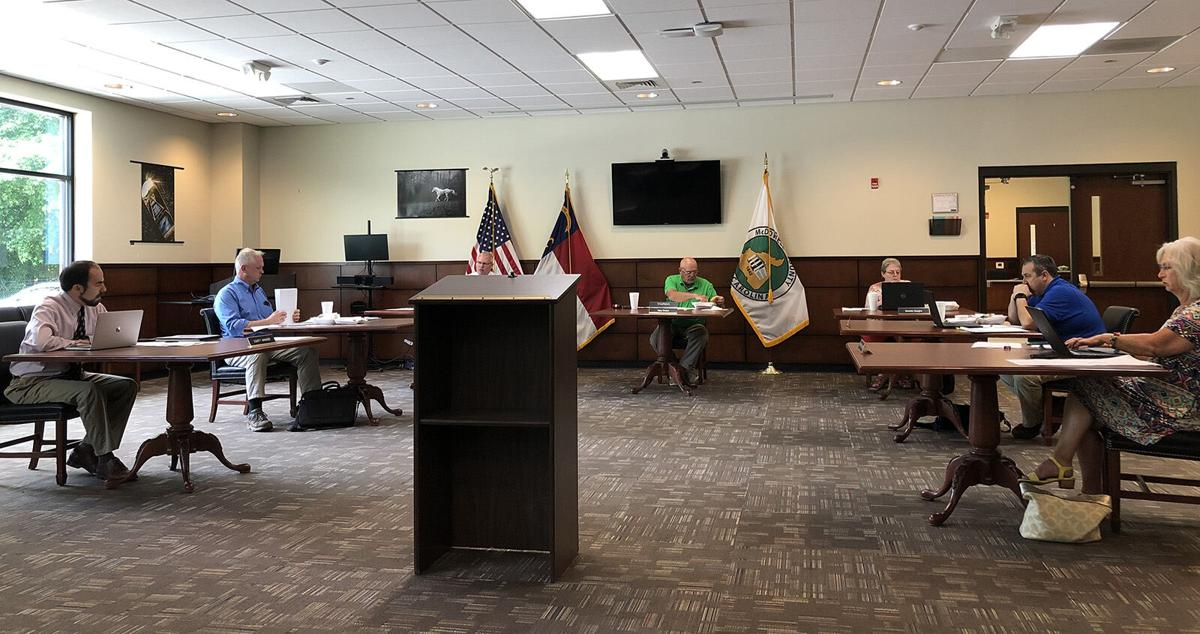 McDowell Commissioners discuss proposed increases for fire and rescue tax rates