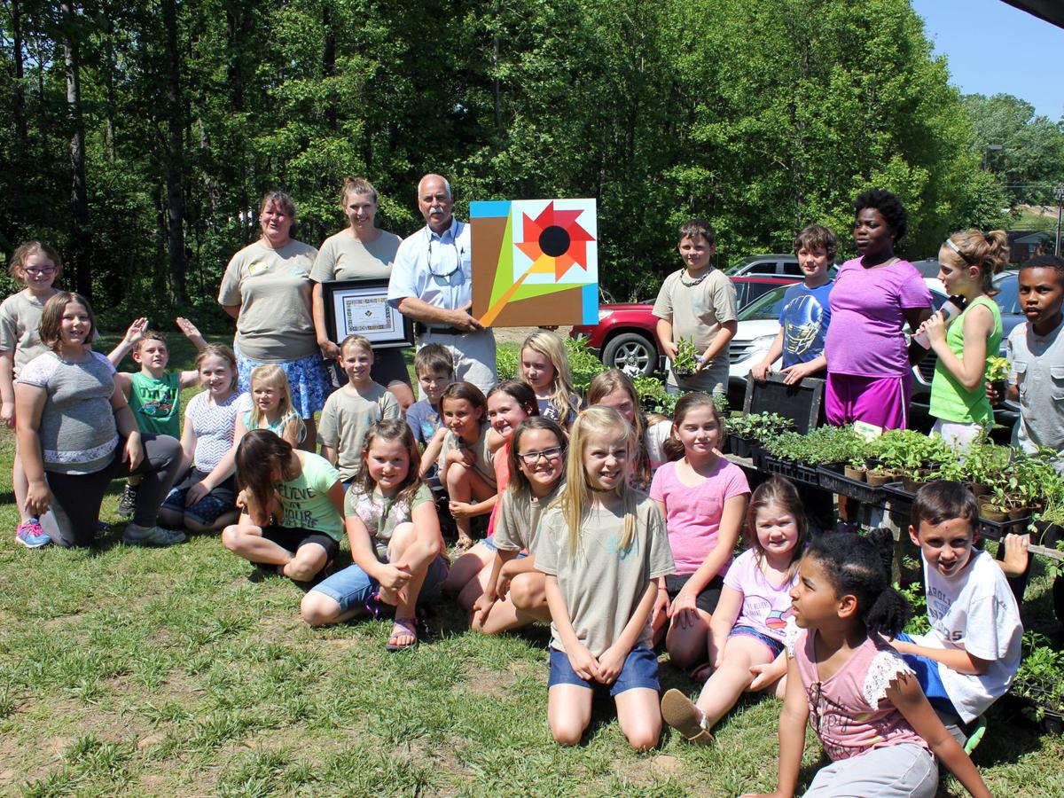 The seeds of learning: School thanks Banner Greenhouses for support