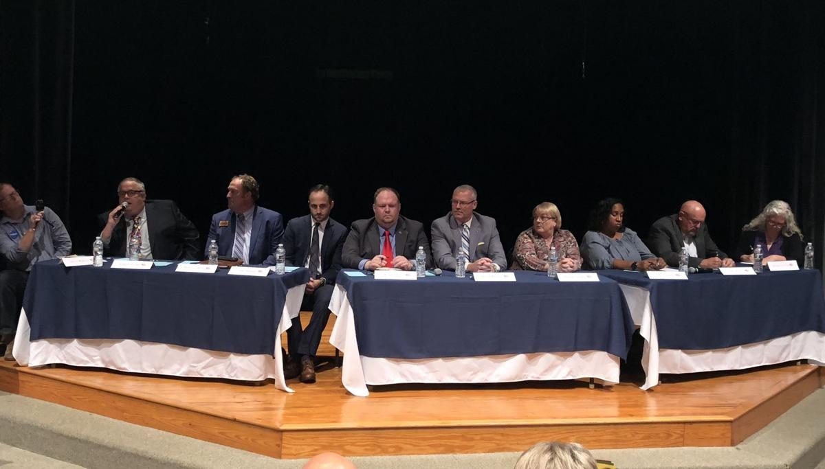 Candidates for 2018 elections take questions at Friday's forum