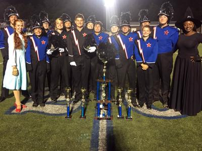Marching Titans wins first place overall at weekend competition