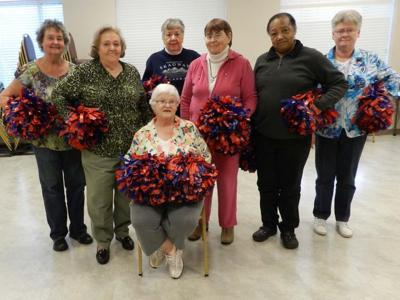 Cheerleading helps seniors make friends, get exercise