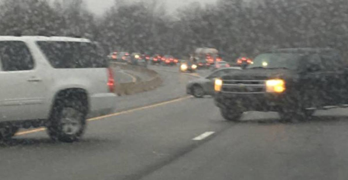 Slick roads, multiple collisions reported on New Years's Eve