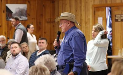Residents voice concerns in Marion about HCA takeover of Mission Health