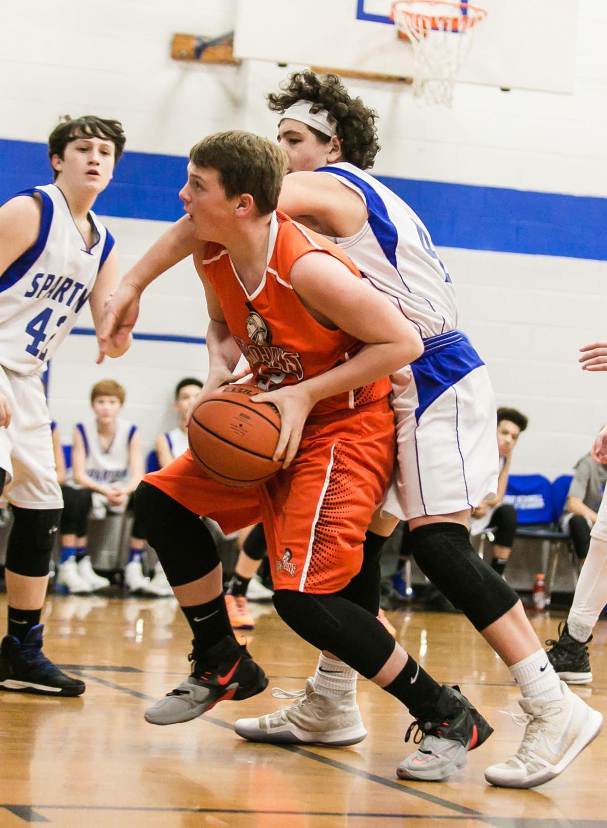 Orange wave: East McDowell sweeps cross-town rivals West