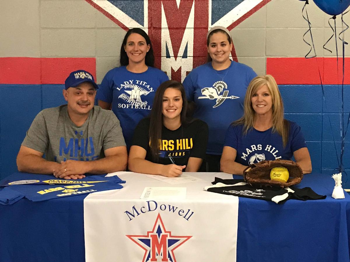 Lady Titans' Conner to play softball at Mars Hill