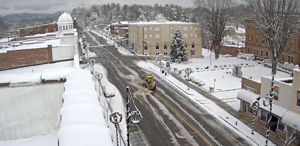 7-8 inches of snow blankets McDowell; bitter cold coming