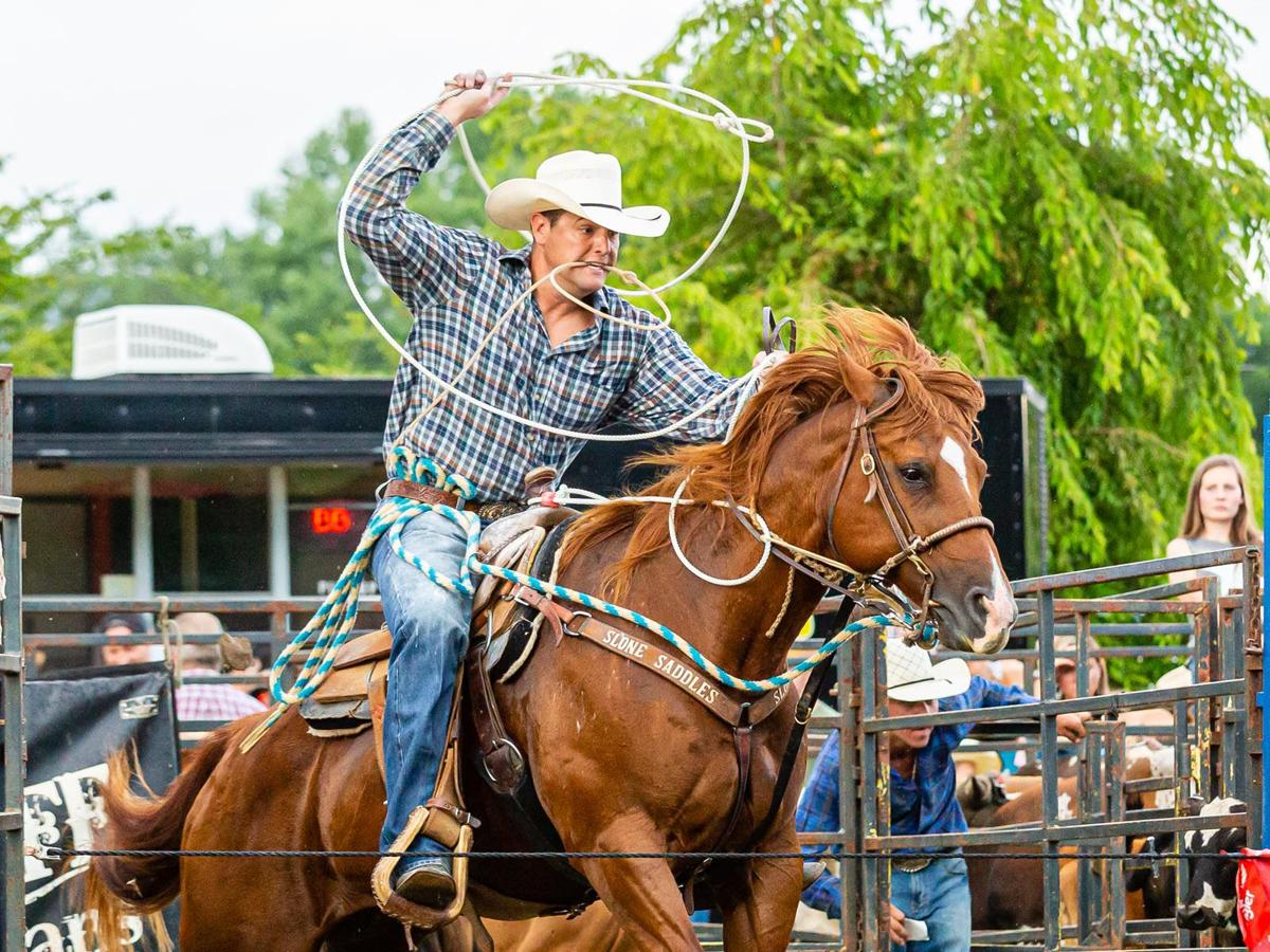 Scenes from Double Creek Pro Rodeo in Old Fort | Photos