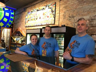 Feisty Goldfish now open in Marion's Historic Depot District