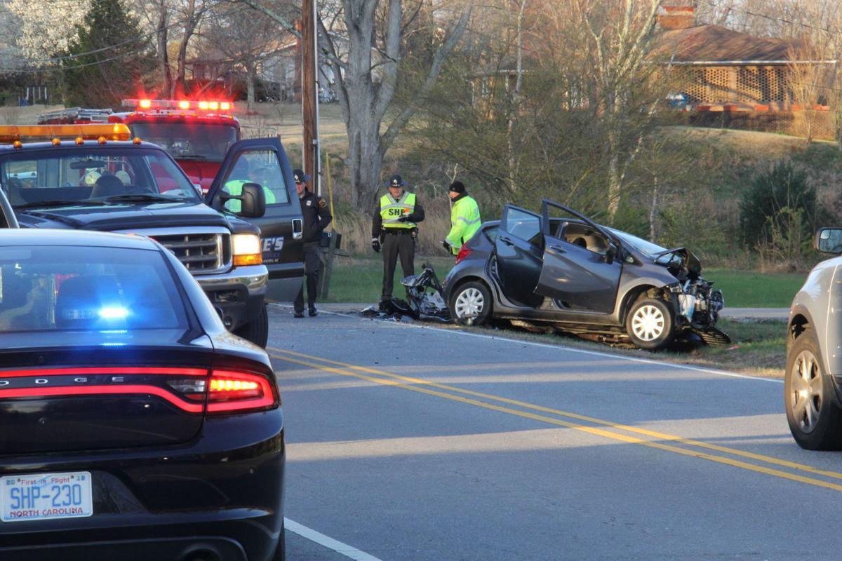 Nebo woman killed in Burke County crash