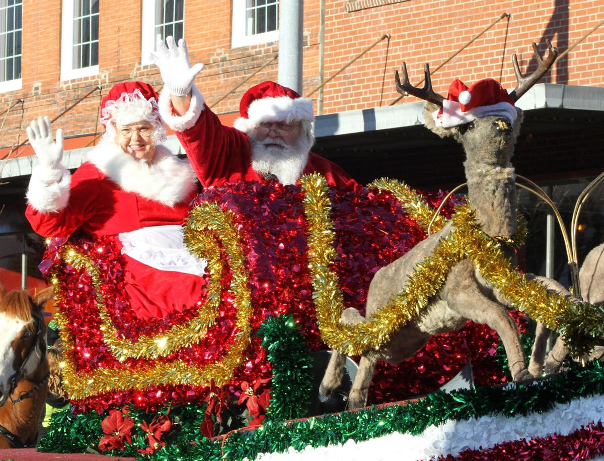 Marion's Christmas parade is Sunday