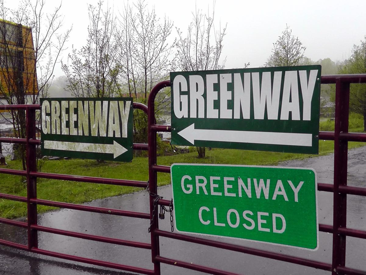 Flooding forces another temporary closing of greenway