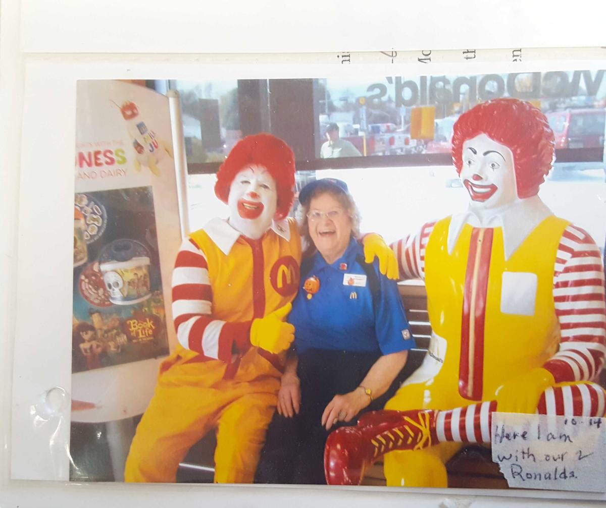 Still on the job at age 90 at Nebraska McDonald's