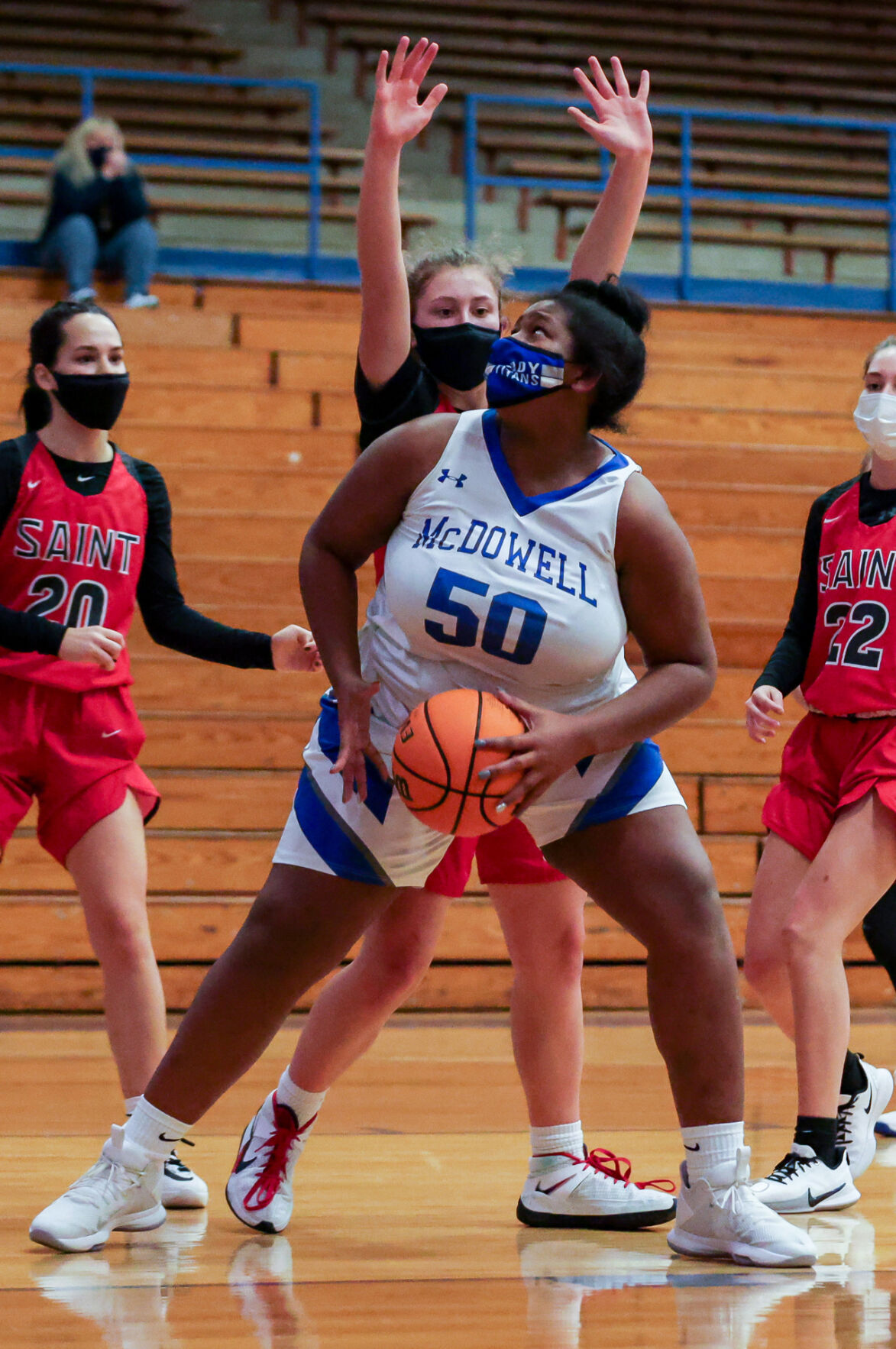 Owning the paint: Boyce sparks Lady Titans with 27 points, 21 boards
