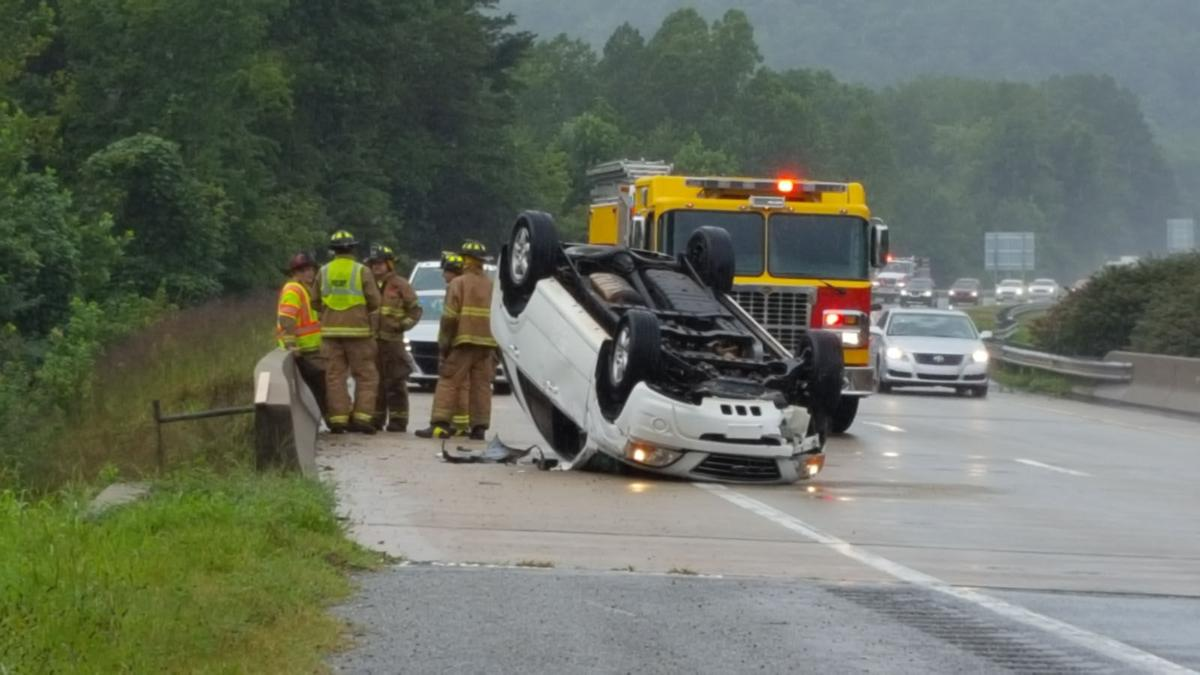Mother, daughter injured in I-40 rollover near Marion